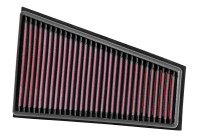 K&N replacement air filter Mercedes A class W176 / B class W246 / CLA /GLA 2012- (33-2995) 33-2995