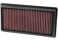 K&N replacement air filter 108/208/2008/308 + Citroen C1/C3/C4/Cactus/C-Elysee/DS3 2012- (33-3006) 33-3006