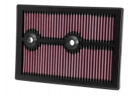 K&N replacement air filter Audi, Seat, Skoda, Volkswagen 2012- (33-3004) 33-3004