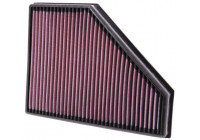 K&N replacement air filter BMW 118D 2.0L-L4 Diesel (33-2942) 33-2942