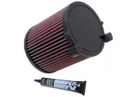 K&N replacement air filter Audi A3 1.6L-L4 2003 (E-2014) E-2014