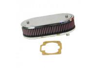 K & N Carburettor filter DDO 229x140mm oval 2H (56-1150)
