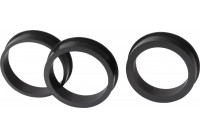 Air filter Adapter rings - set of 3 pieces