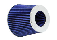 K&N RG-Series universal replacement filter with 3 connection Diameters Blue (RG-1001BL)