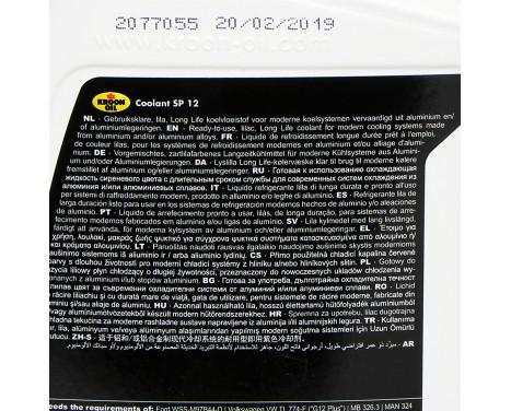 Kroon-Oil 04214 Antifreeze Coolant SP 12 1L, Image 3