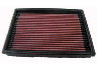 K&N vervangingsfilter Peugeot 206 1.1-2.0 (33-2813) 33-2813