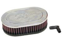 K&N universeel vervangingsfilter Ovaal 52 mm (RA-071V)