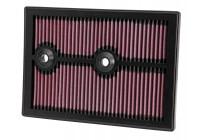 K&N vervangingsfilter Audi, Seat, Skoda, Volkswagen 2012- (33-3004) 33-3004