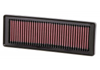 K&N vervangingsfilter Fiat Grande Punto 1.2/1.4 8v 2005- + Fiat 500 1.2 8/2007- (33-2931) 33-2931