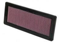 K&N vervangingsfilter Mini Cooper S 1.6L-L4 2006 (EU) 2007 (US) (33-2936) 33-2936