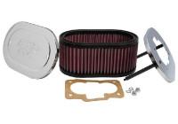 K&N carburateurfilter DDO 178mm x 114mm ovaal 83mm Hoogte (56-1120)