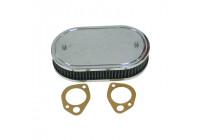 K&N carburateurfilter SDO 229x140mm ovaal 45mm Hoogte (56-1330)
