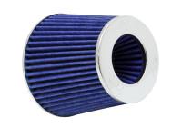 K&N RG-Serie universeel vervangingsfilter met 3 aansluit Diameters Blauw (RG-1001BL) RG1001BL