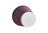 K&N universeel conisch filter 60mm aansluiting, 132mm Bodem, 89mm Top, 110mm Hoogte (RC-8300)