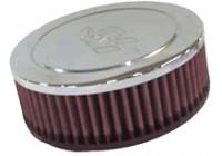 K&N universeel vervangingsfilter Ovaal 52 mm (RA-045V)