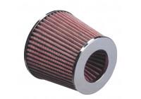 Universeel Luchtfilter conisch - 76mm aansluiting