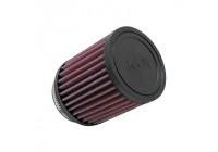K&N universeel cilindrisch filter 64mm aansluiting, 5 graden hoek, 89mm uitwendig, 102mm Hoogte (RB-