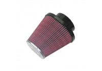 K&N universeel ovaal/conisch filter 99.5mm aansluiting, 84x113mm, 179mm, 204mm Hoogte (RC-70001)