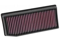 K&N vervangingsfilter Dacia Dokker, Duster, Lodgy, Logan, Sandero / Renault Captur, Clio 2012- (33-3