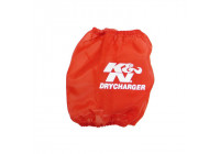 K&N Drycharger Filter Wrap Rood 137x140mm (RP-4660DR)