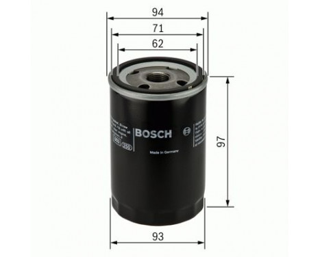 Oliefilter FJ/WH14/6/22 Bosch