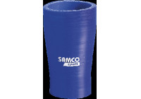 Samco Verloopadapter recht Reducer blauw 51>38mm 102mm