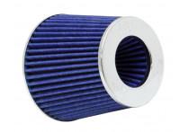 K&N RG-Serie universeel vervangingsfilter met 3 aansluit Diameters Blauw (RG-1001BL)