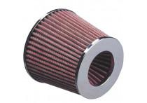 Universeel Luchtfilter conisch - 60,5mm aansluiting
