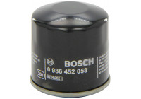 Filtre à huile P 2058 Bosch