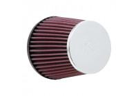 Filtre conique universel K & N avec connexion de 76mm, sol de 114mm, dessus de 89mm, hauteur de 110mm (RC-9410)