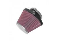 Filtre K & N universel ovale / conique, raccordement 100mm, 174x134 en bas, 114x82 en haut, 127mm en hauteur (RC-70)