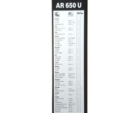 Torkarblad Aerotwin Retro AR 650 U Bosch, bild 2