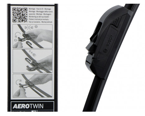 Torkarblad Aerotwin Retro AR 650 U Bosch, bild 5