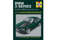 Haynes Workshop manual BMW 3-serie bensin (april 1991 - 1999)