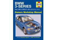 Haynes Workshop manual BMW 3-serie bensin (september 1998-2006)