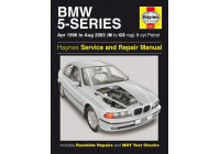 Haynes Workshop Manual BMW 5-serie 6-cyl bensin (1996-2003)