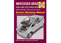 Haynes Workshop manual Mercedes-Benz A-klass bensin och diesel (1998-2004)