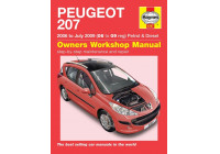 Haynes Workshop manual Peugeot 207 bensin och diesel (2006-juli 2009)