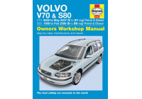 Haynes Workshop manual Volvo V70 / S80 bensin och diesel (1998 - 2007)