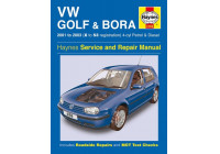 Haynes Workshop manual VW Golf & Bora 4-cyl. bensin och diesel (2001-2003)