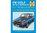 Haynes Workshop manual VW Golf, Jetta & Scirocco Mk 1 bensin 1,5, 1,6 och 1,8 (1974-1984)