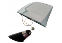 100% Koper Antenne 'Genuine SharkFin' - aluminium