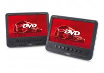 """Draagbare 7"""" TFT LED DVD-speler + monitor set ( 2 schermen )"""