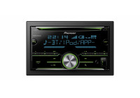 Pioneer FH-X730BT autoradio dubbel din CD/Bluetooth/USB/Aux