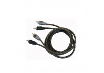 Necom Twisted RCA kabel 1,5m