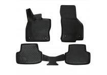 Rubbermatten voor VW Golf VII 2013- 4-delig excl. e-Golf
