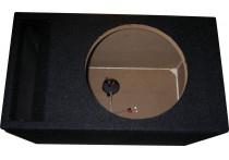 MDF Subwooferkist 12'' Bandpass 1x aansluiting