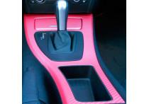 3D Carbonfolie 152x200cm Roze, zelfklevend