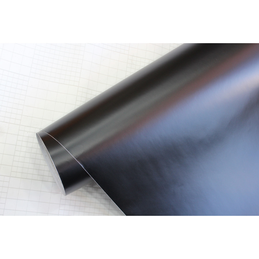 car wrapping folie 152x200cm mat zwart zelfklevend
