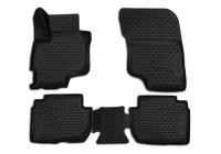 Rubbermatten voor Mitsubishi Outlander PHEV 2014- 4-delig